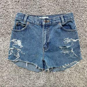 Vintage Arizona high waist shorts